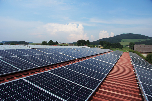 Renewable energy produced by solar panels built by Sumac