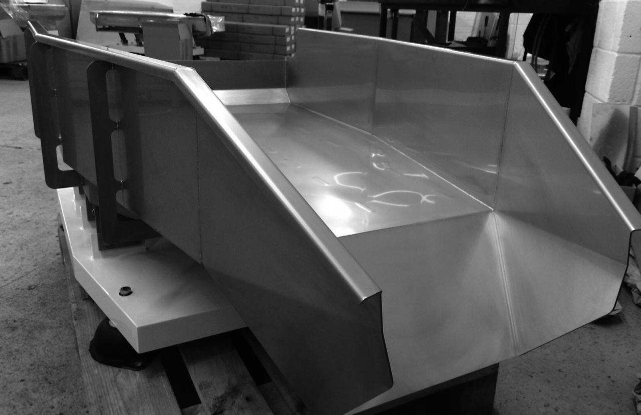 Sumac manufacturing fabrication shute